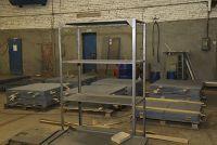 Изготовление стеллажей из нержавеющей стали